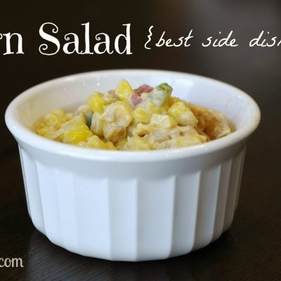 Cooking with Grammie: Corn Salad (the perfect side dish)