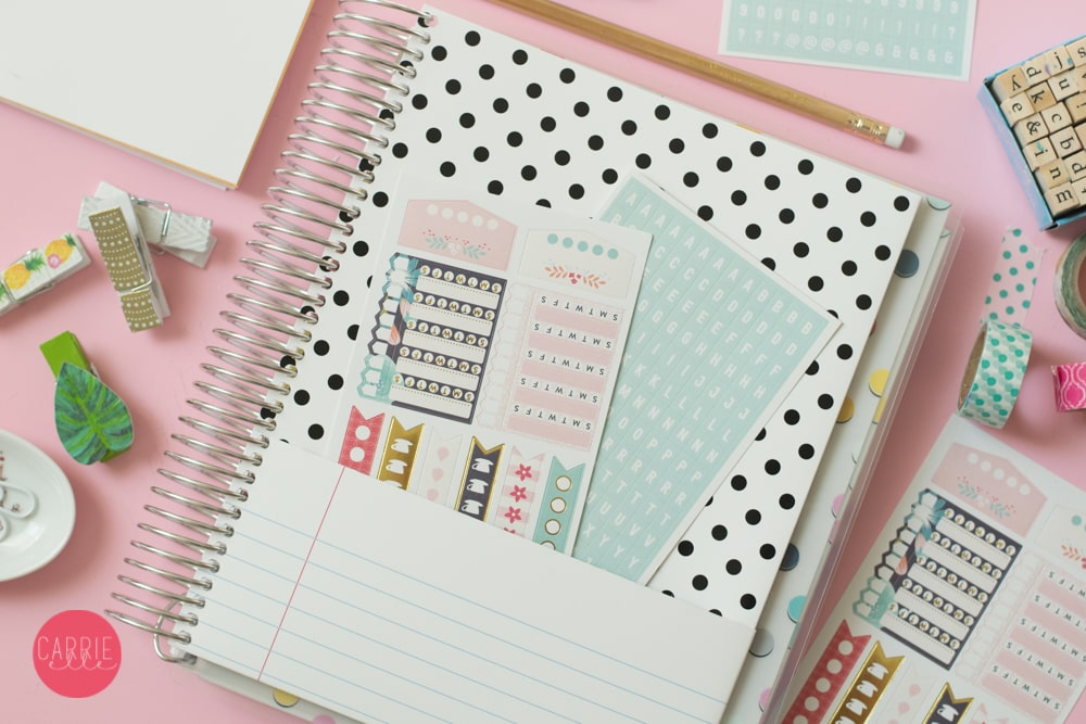 Carrie Elle Intentional Life Day Planner