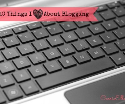 10 Things I Love About Blogging