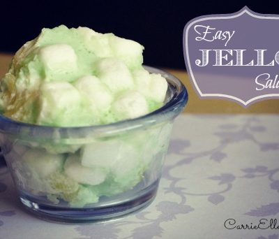 Cooking with Grammie: Easy Jello Salad