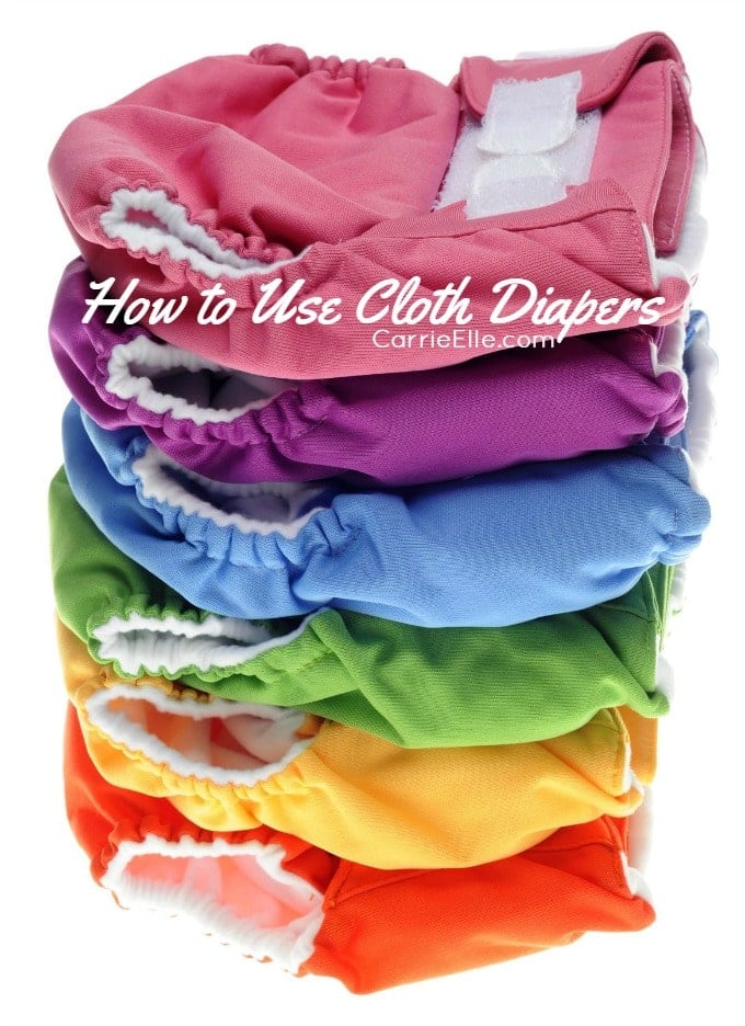 how to use cloth diapers in 5 simple steps carrie elle. Black Bedroom Furniture Sets. Home Design Ideas