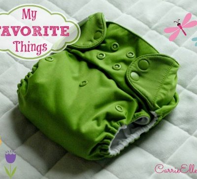 My Favorite Cloth Diapers (and Accessories!)