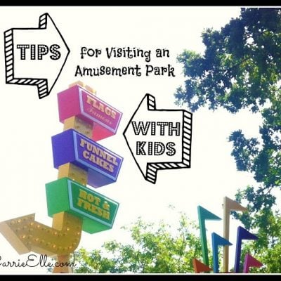 tips for visiting an amusement park with kids