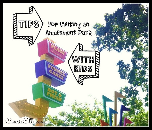10 Tips for Visiting an Amusement Park with Kids from Carrie Elle