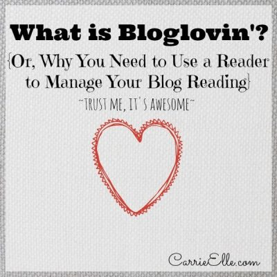 What is Bloglovin'?