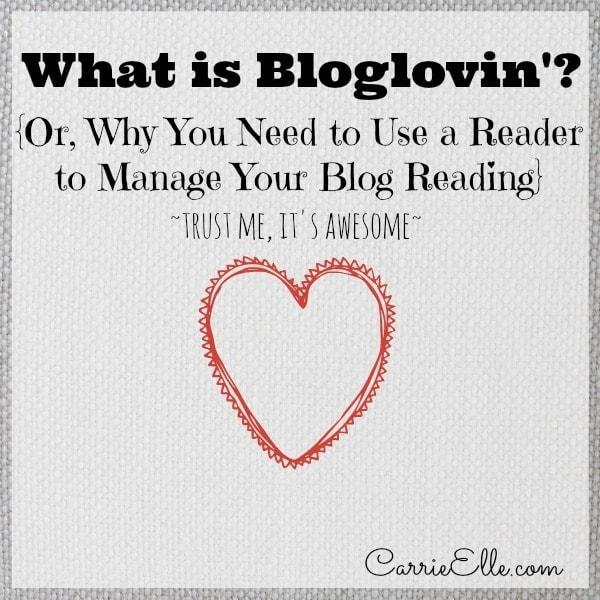 what is bloglovin'?