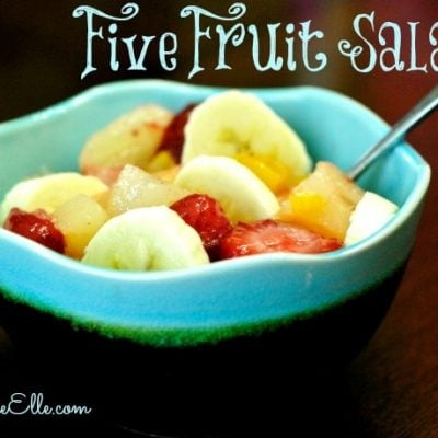 five fruit salad