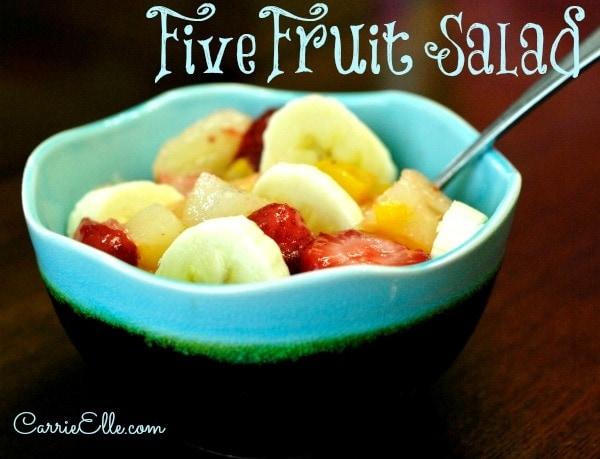 five fruit salad