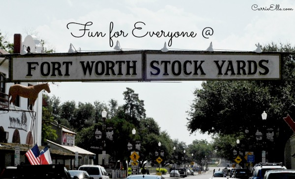 forth worth stockyards sign