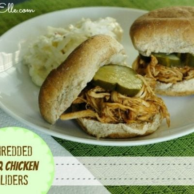 Easy Meals (Like These Shredded BBQ Chicken Sliders) with Kraft Recipe Makers