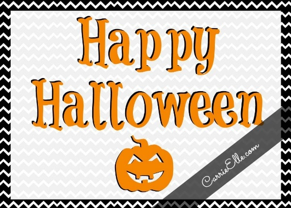 photograph regarding Free Halloween Printable referred to as No cost Halloween Printables