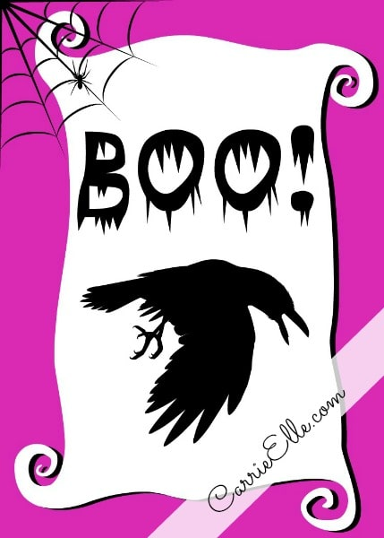photograph relating to Halloween Printable Decorations named No cost Halloween Printables