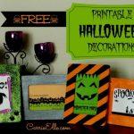 Free Halloween Printables (Spoooooooky!)
