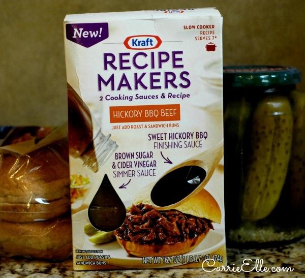 Kraft Recipe Makers box