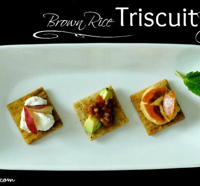 Brown Rice Triscuit Recipes You're Going to LOVE!
