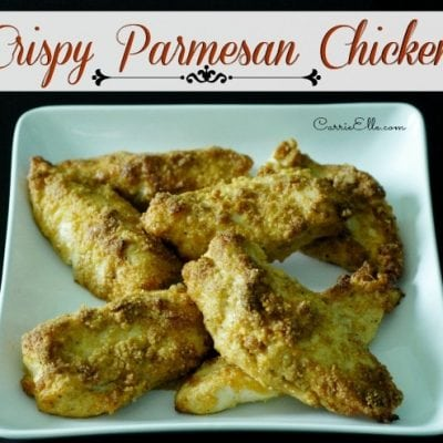 Cooking with Grammie: Crispy Parmesan Chicken