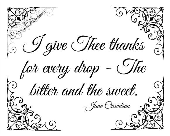 Jane Crewdson Quote Free Printable