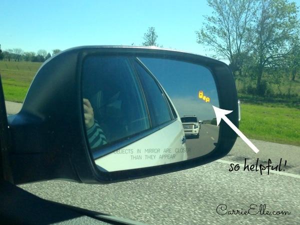 Kia Sorento Blind Spot Checker