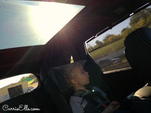 Kia Sorento Sunroof Sun Shade