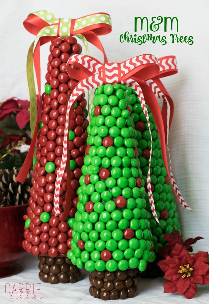 M&M Christmas Craft