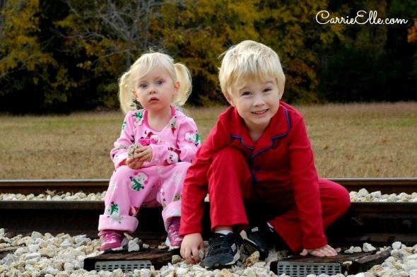 Polar Express Train Tracks