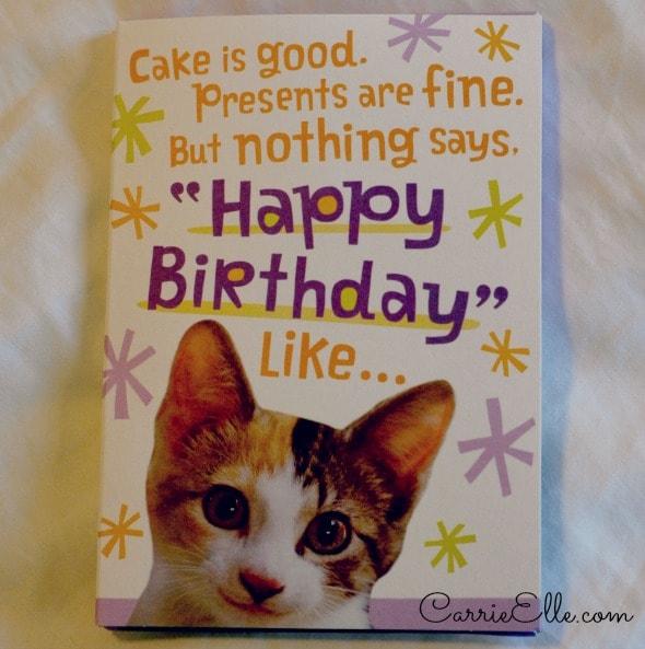 hallmark cards make december birthdays special  carrie elle