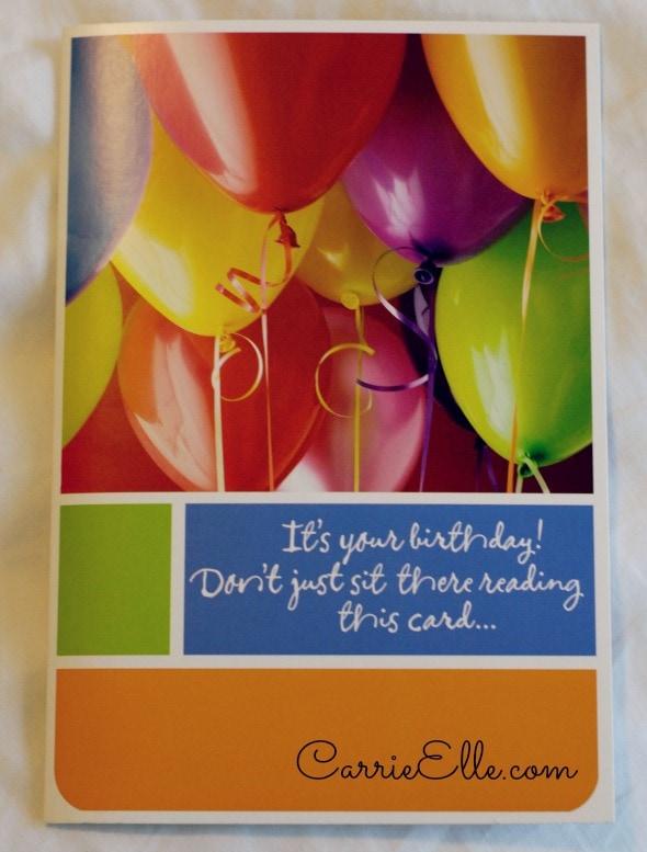 Hallmark Cards Make December Birthdays Special Carrie Elle – Hallmark Birthday Cards