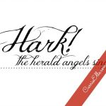12 Days of Christmas Printables! Day 11: Hark! The Herald Angels Sing
