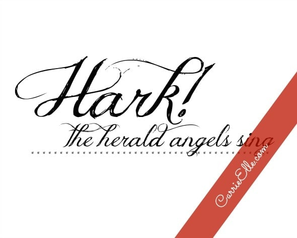 Hark! The Herald Angels Sing art