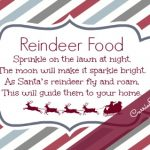 12 Days of Christmas Printables! Day 12: Reindeer Food Printable