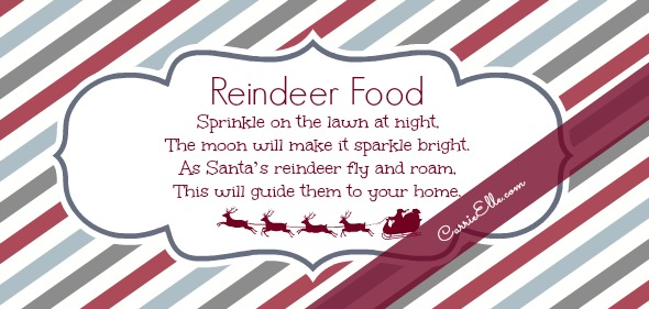 graphic relating to Reindeer Food Printable identify 12 Times of Xmas Printables! Working day 12: Reindeer Meals