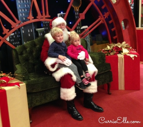 free in dallas holiday activities at galleria dallas carrie elle