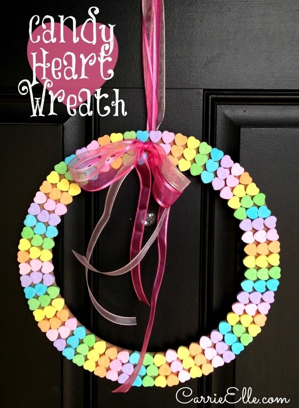 Candy Heart Wreath