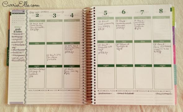 Editorial Calendar Weekly Planner