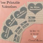 Free Printable Valentines (That Won't Use All Your Ink)