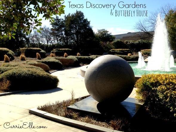 Texas Discovery Gardens Fountain