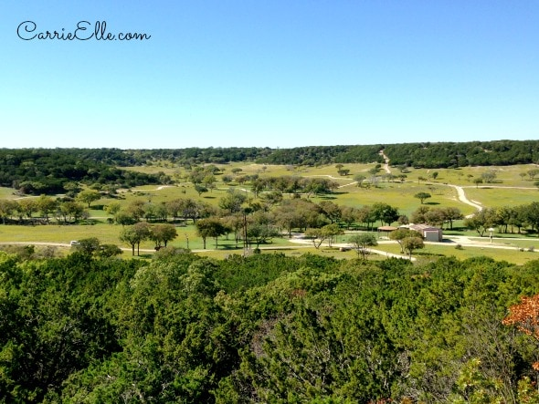 Fossil Rim Overlook View