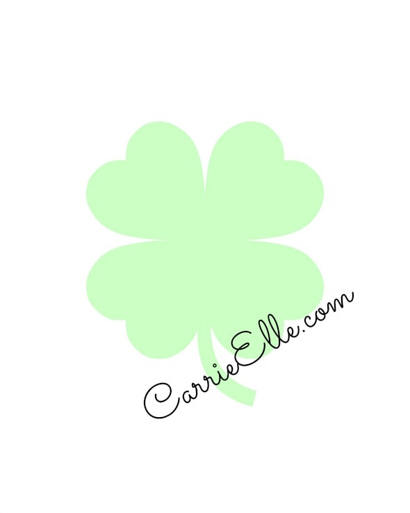 graphic about Printable Shamrock Images identify Simple St. Patricks Working day Craft for Small children Shamrock Printable