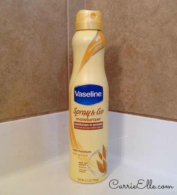 Vaseline Spray & Go #sprayitforward