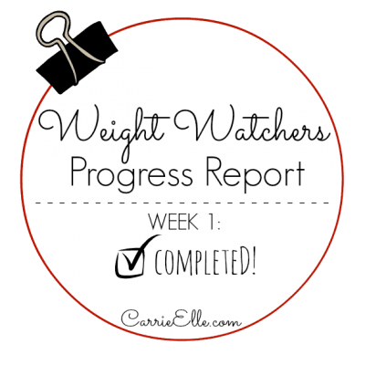 Weight Watchers, Week 1: Smart Start (I Survived!)