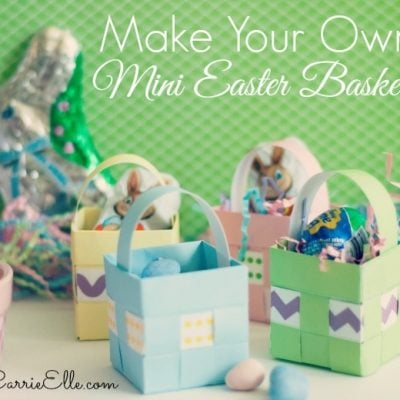 Printable Easter Baskets