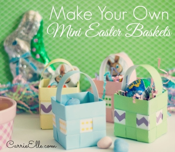 Free printable easter baskets make your own easter baskets 2 negle Image collections