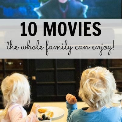 Family Movie Night with Tony's Pizza (and…10 Movies the Whole Family can Enjoy!)