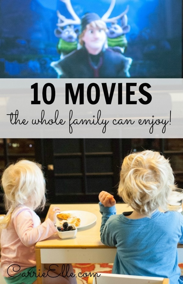 10 Movies for the Entire Family