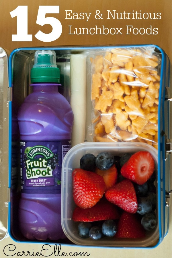 Easy Lunchbox Ideas