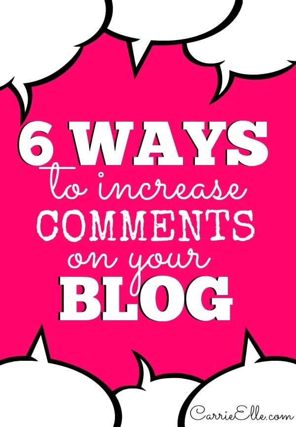 How to Increase Blog Comments