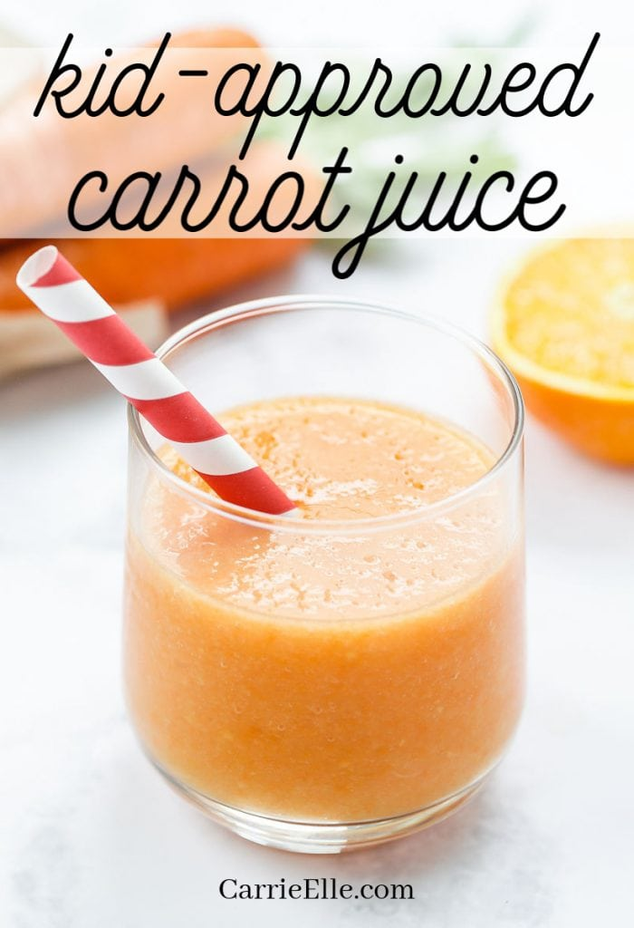 Carrot Juice for Kids