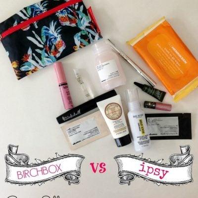 Ipsy vs. Birchbox – Round 2!