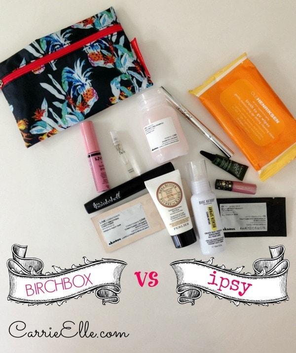 Birchbox vs Ipsy
