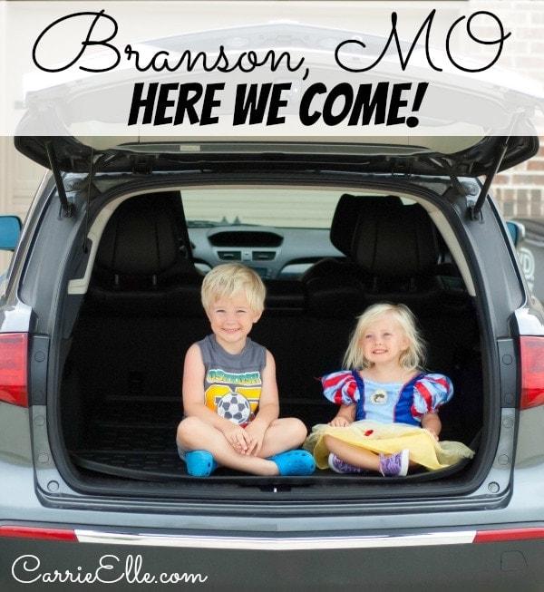 Branson MO Trip